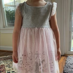 Cynthia Rowley dress with sparkly tulle overlay
